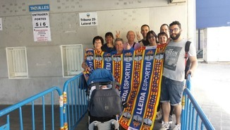 """Catalunta migdia esports Lleida"": Amenaces al defensa del Lleida Esportiu Molo"