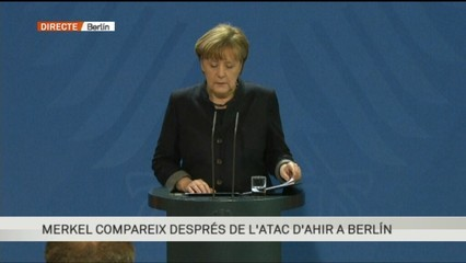 Compareixença íntegra de Merkel
