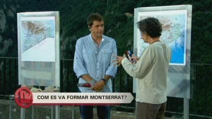 Els origens de la muntanya de Montserrat