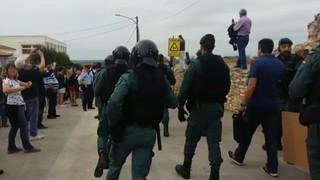 La Guàrdia Civil intervé a Vilabella