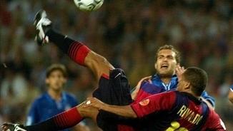 Rivaldo, qualitat i professionalitat