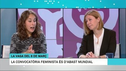 La vaga feminista del 8M, a debat