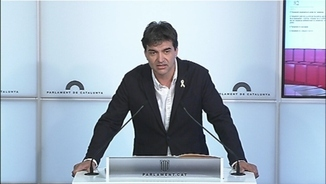 """Sergi Sabrià: """"Pel que fa al diàleg amb el PSOE, estem en el moment zero"""""""