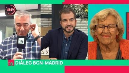 Diàleg BCN-Madrid: Carles Francino, Antoni Bassas i Manuela Carmena