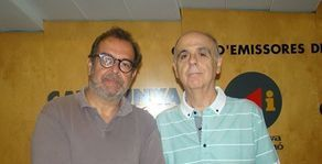 Vicent Sanchis, Albert Saez i Miquel Porta Perales, a la Tert�lia amb plus.