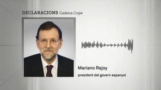 Rajoy diu que Puigdemont no pot ser president de res