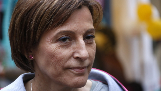 "Forcadell: 11.5 years in prison for her ""decisive role"" in the creation of a ""parallel legal system"""