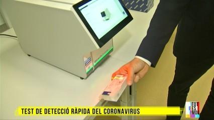 Descobrim un test de detecció ràpida del coronavirus fet per un equip català