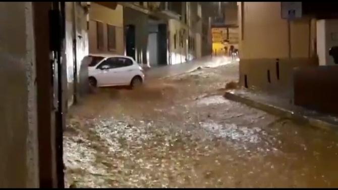 Aiguats intensos provoquen inundacions entre el Maresme i el sud de la Costa Brava