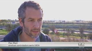 El sindicat de controladors USCA considera insuficient la convocatòria de 130 places per part d'Enaire