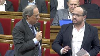 "Torra demana al PP que retiri les ""gravíssimes"" acusacions de Pablo Casado"