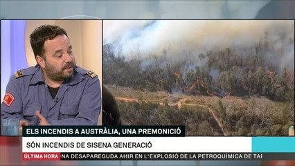 Els incendis d'Austràlia com a indicadors del canvi climàtic