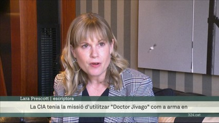 """Lara Prescott presenta una novel·la inspirada en la dramàtica història de la publicació de """"Doctor Jivago"""""""