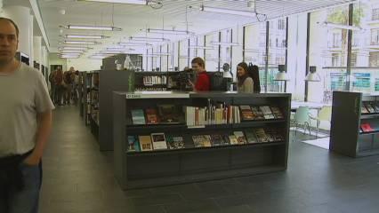 Una nova biblioteca a Barcelona