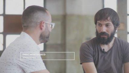 Teaser entrevista Enric Montefusco pel comiat de Standstill al Tria33