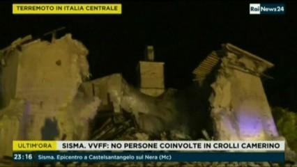Dos nous terratrèmols al centre d'Itàlia fan caure edificis però no maten ningú