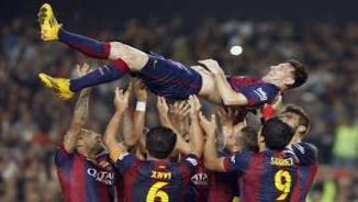 Messi supera el rècord de Zarra a la Lliga