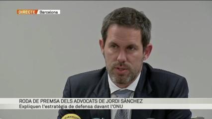 Les mesures cautelars del Comitè de Drets Humans en el cas Jordi Sànchez