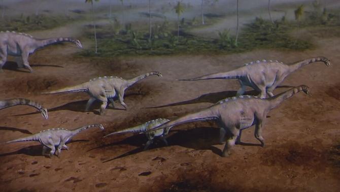 El titanosaure: un dinosaure català que va deixar petjada