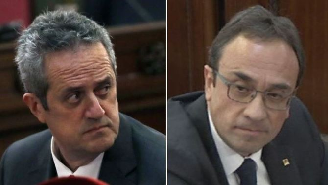 Former ministers Joaquim Forn and Josep Rull, sentenced to 10 and a half years' prison for sedition