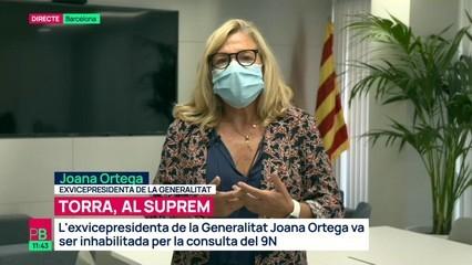 """Joana Ortega: """"La política és un camí que no he tancat, que estic meditant"""""""