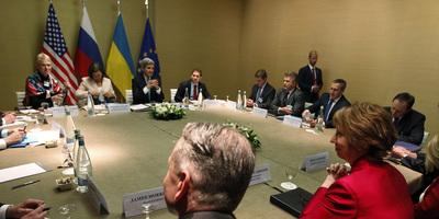 Moscou, Kíev, els EUA i la UE arriben a un acord per desarmar les milícies i desocupar els edificis públics
