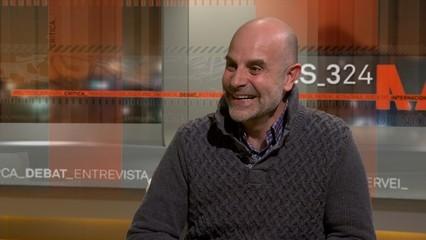 """Entrevista a Daniel Gabarró, psicopedagog. Acaba de publicar el llibre """"Temps difícils, accions sàvies"""""""