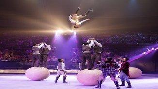 Acrobàcies inèdites a la 8a edicó del Festival Internacional del Circ de Girona