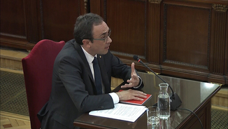 """Josep Rull: """"El Tribunal Constitucional té un dèficit important d'autoritat moral"""""""