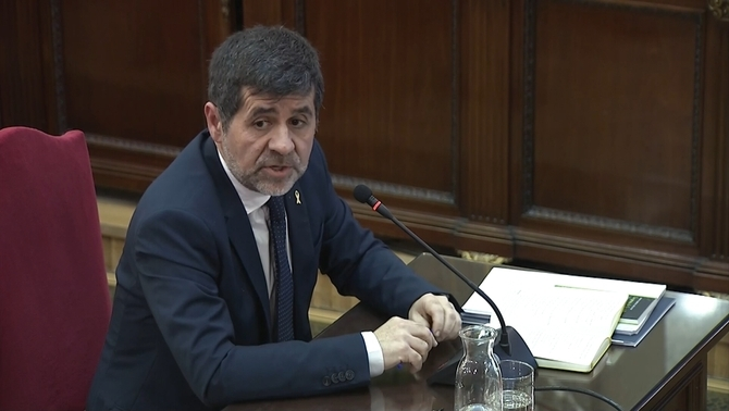 "Sànchez, on the 20-S events: ""I was not in charge of security, I carried out stewardship tasks"""