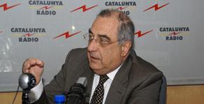 Joaquim Nadal, president del grup parlamentari del PSC