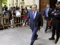 Blesa, sortint del Tribunal Superior de Just�cia de Madrid. (Foto: EFE)