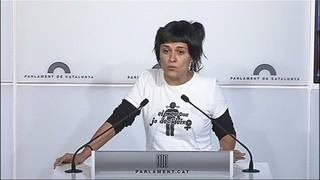 La CUP mostra plena sintonia amb el discurs de Puigdemont