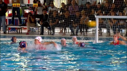 Waterpolo femení Final Four Len Trophy: La Sirena Mataró-Padova 3r. i 4rt. lloc