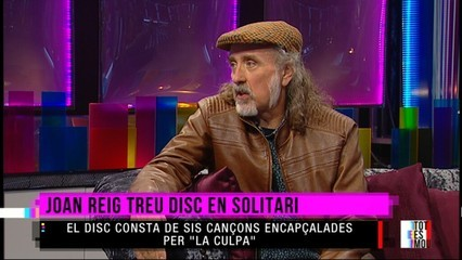 Joan Reig presenta disc en solitari