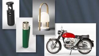 tanca Tanka, encenedor Clipper Clàssic, llum de taula FollowMe, Motocicleta Impala