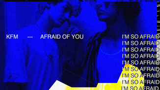"Portada del senzill ""Afraid of you"" de Kids from Mars"
