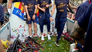 Hat-trick Barça