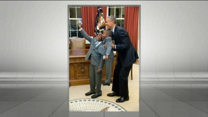 Les fotos de l'Obama president