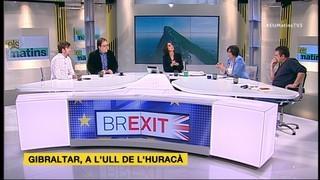 Tertúlia (1/2) de 03/04/17 sobre el Brexit i les declaracions del ministre Dastis sobre Escòcia