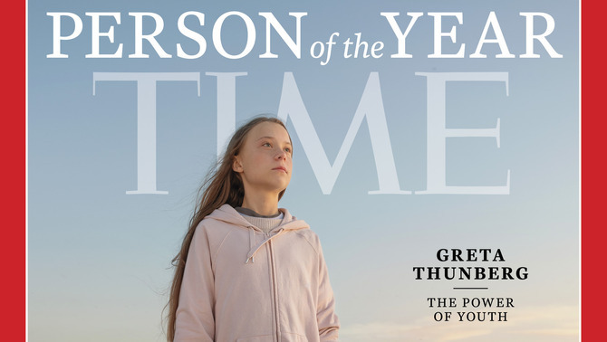 Greta Thunberg, Persona de l'Any per la revista Time