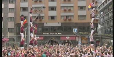 Andorra debuta com a plaça castellera amb una triple actuació a Escaldes-Engordany