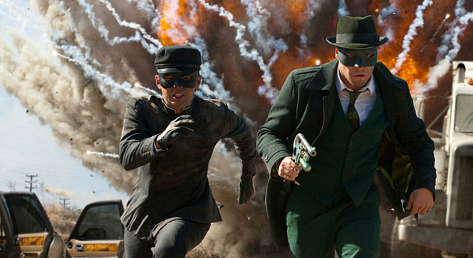 """La gran pel�l�cula"": ""The green hornet"""