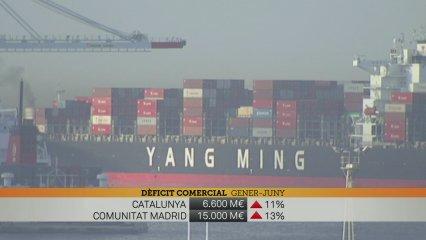 Creixen les exportacions, però també creix el dèficit comercial