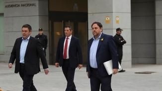 """Les declaracions dels consellers a l'Audiència Nacional abans d'anar a presó [exclusiva de l'""""Ara""""]"""