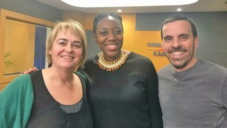 """Desirée Bela: """"Ser dona negra a Espanya no és fàcil però ara ens comencen a donar veu als mitjans"""""""