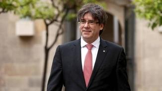 "Puigdemont: ""Hem de continuar endavant i fer-ho de manera no violenta com fins ara"""