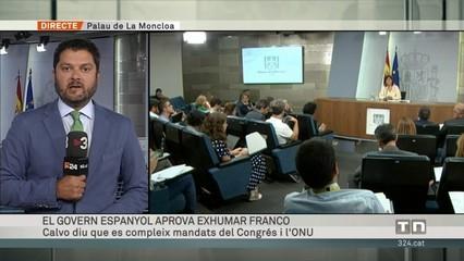 El govern espanyol aprova exhumar Franco
