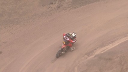 Sam Sunderland guanya la cinquena etapa del Dakar