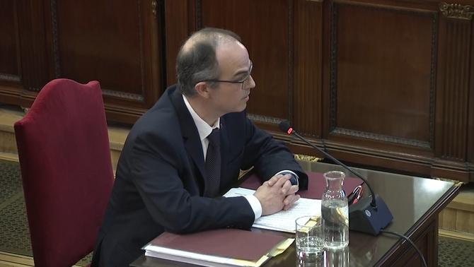 The 10 key statements of Jordi Turull in the Catalan independence trial